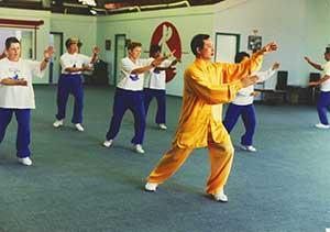 tai chi class golden lion