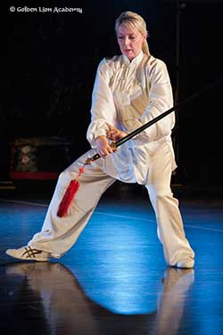 tai chi straight sword form