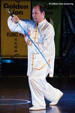 Si Gung Charles Tai Chi Sabre Form
