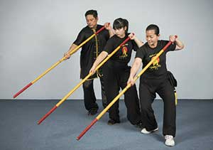 The bow staff of Kung Fu