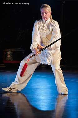 tai chi straight sword form